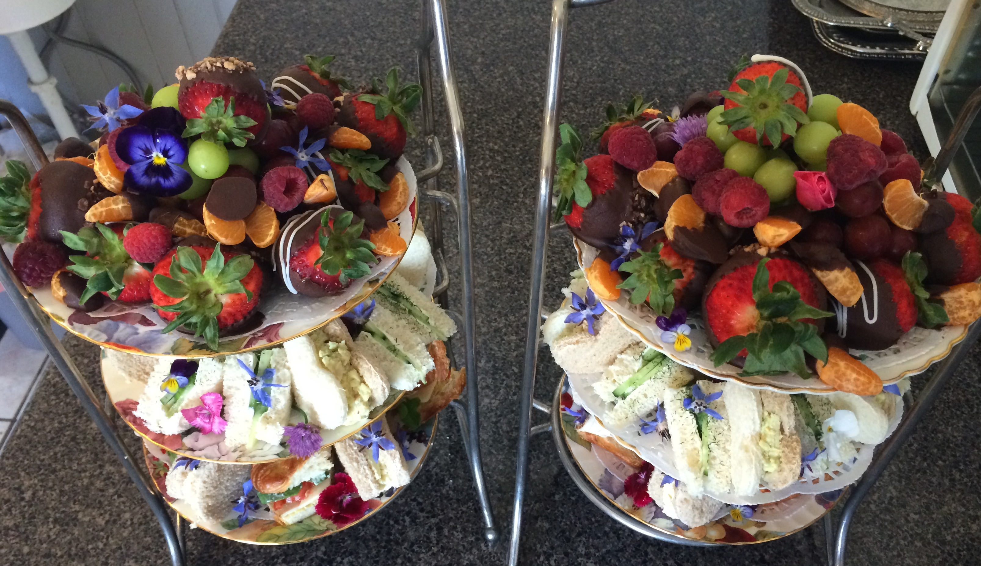 Three tier presentation for your special event