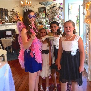 Princess Tea parties at The Painted Lady in Myrtle Creek, Oregon