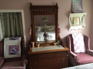 Right off I-5, The Painted Lady features many vintage pieces of furniture and decorations.