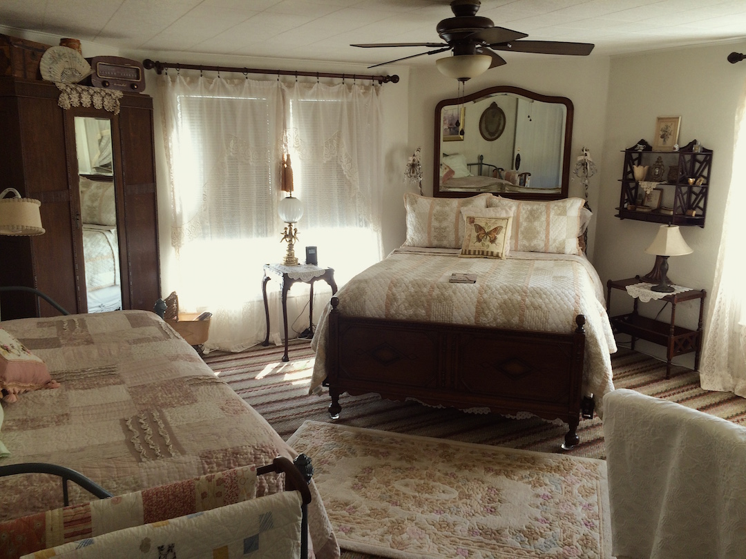 Our most spacious room at The Painted Lady -