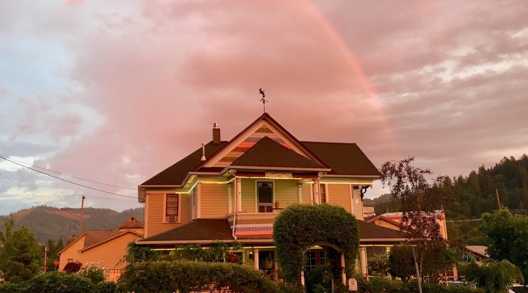 Rainbow - The Painted Lady 2018