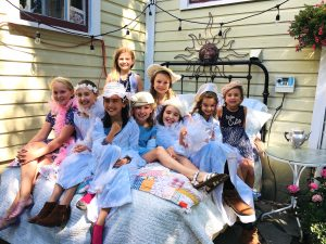 Princesses at Painted Lady 9:18